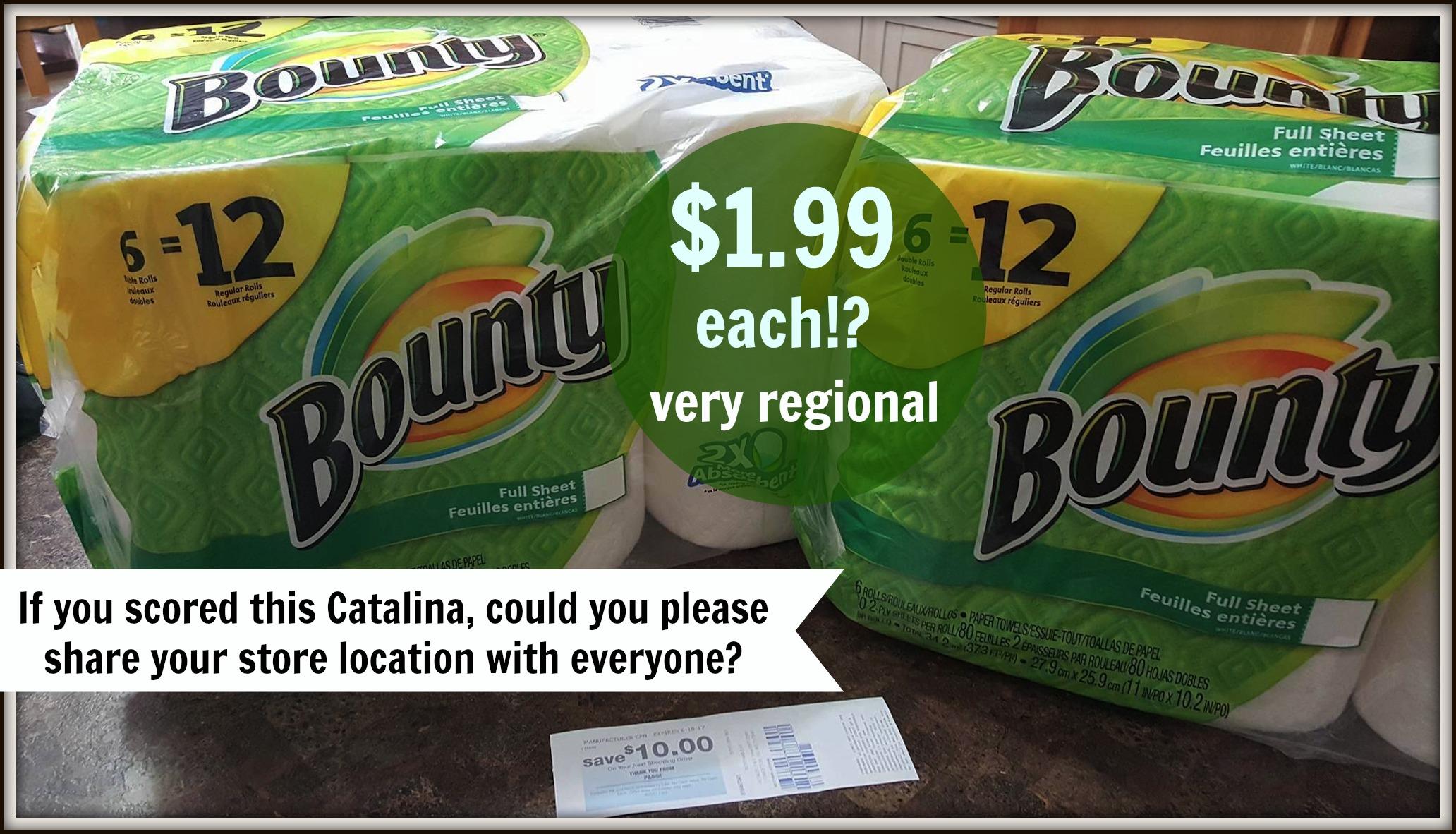 bounty catalina