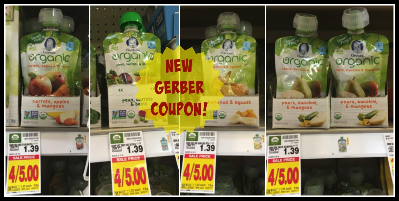 gerber organic pouches 1 Image
