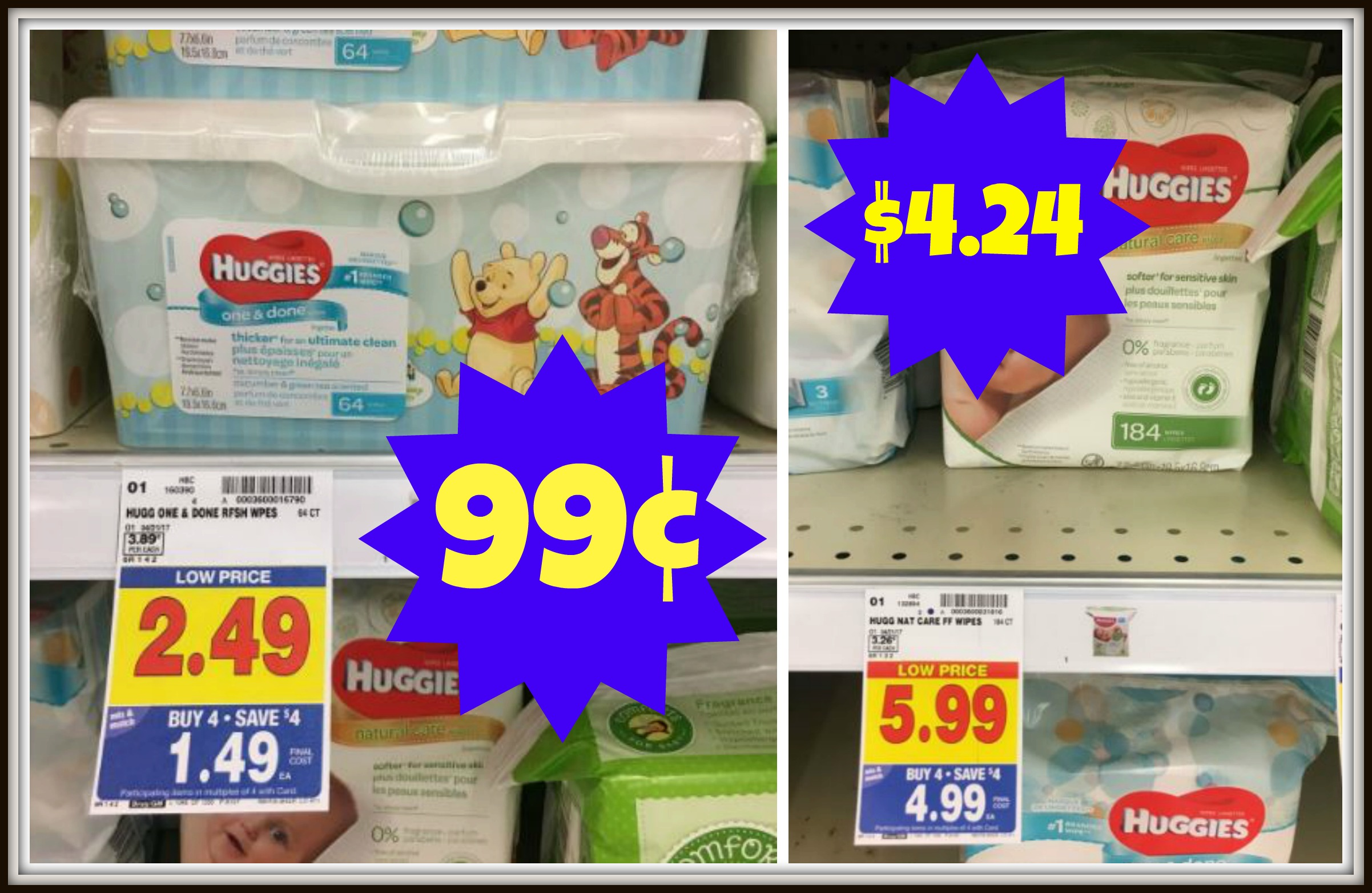 picture relating to Huggies Wipes Printable Coupons called Clean Huggies Wipes Coupon codes as lower as $0.99 with Kroger Mega