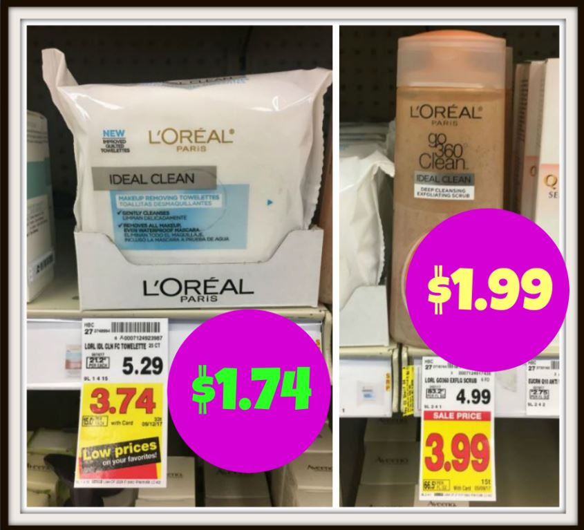 NEW L'Oreal Coupons | Skin Care Products for as low as $1.74 at Kroger!! - Kroger Krazy