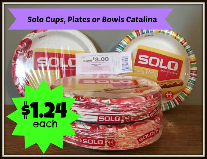 Solo plates coupons 2019
