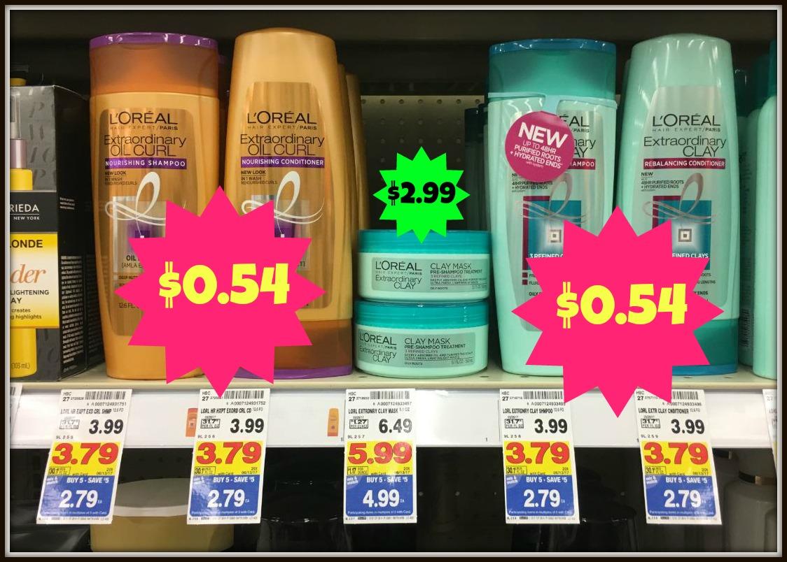 L'Oreal Paris Hair Expert Hair Care as low as $0.54 at Kroger!! - Kroger Krazy