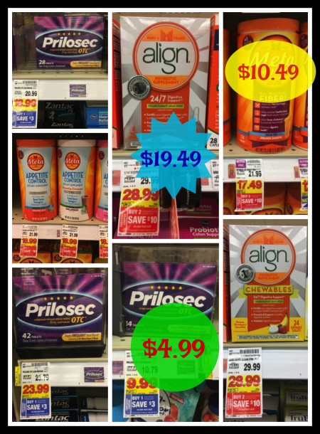photo relating to Prilosec Printable Coupon identify Best Specials upon Prilosec, Align and Meta Solutions at Kroger