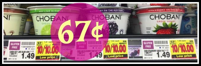 chobani greek yogurt