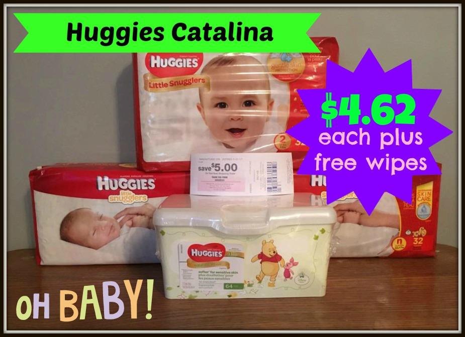 huggies catalina