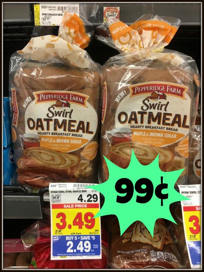 pepperidge farm oatmeal bread