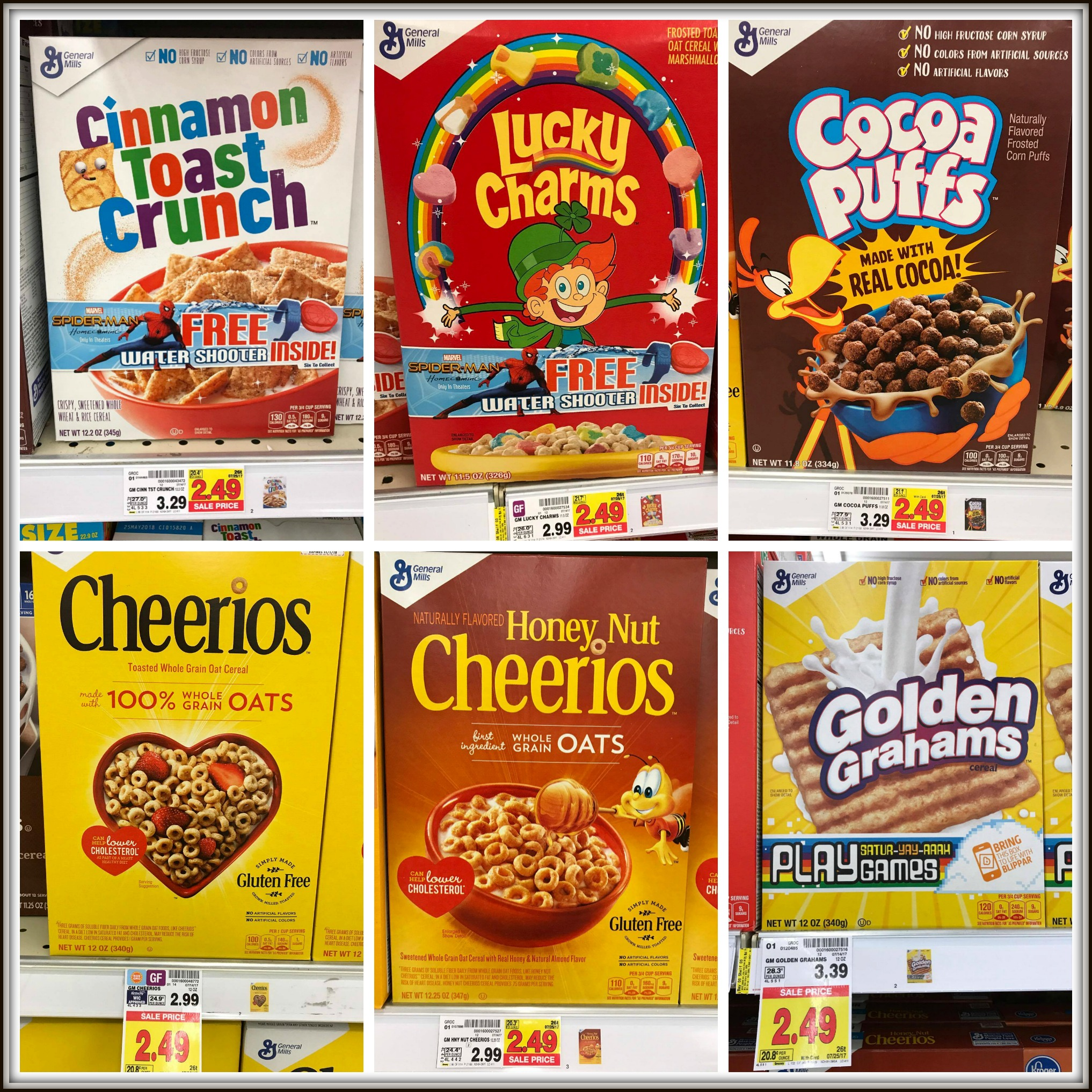 General Mills Cereal And Nature