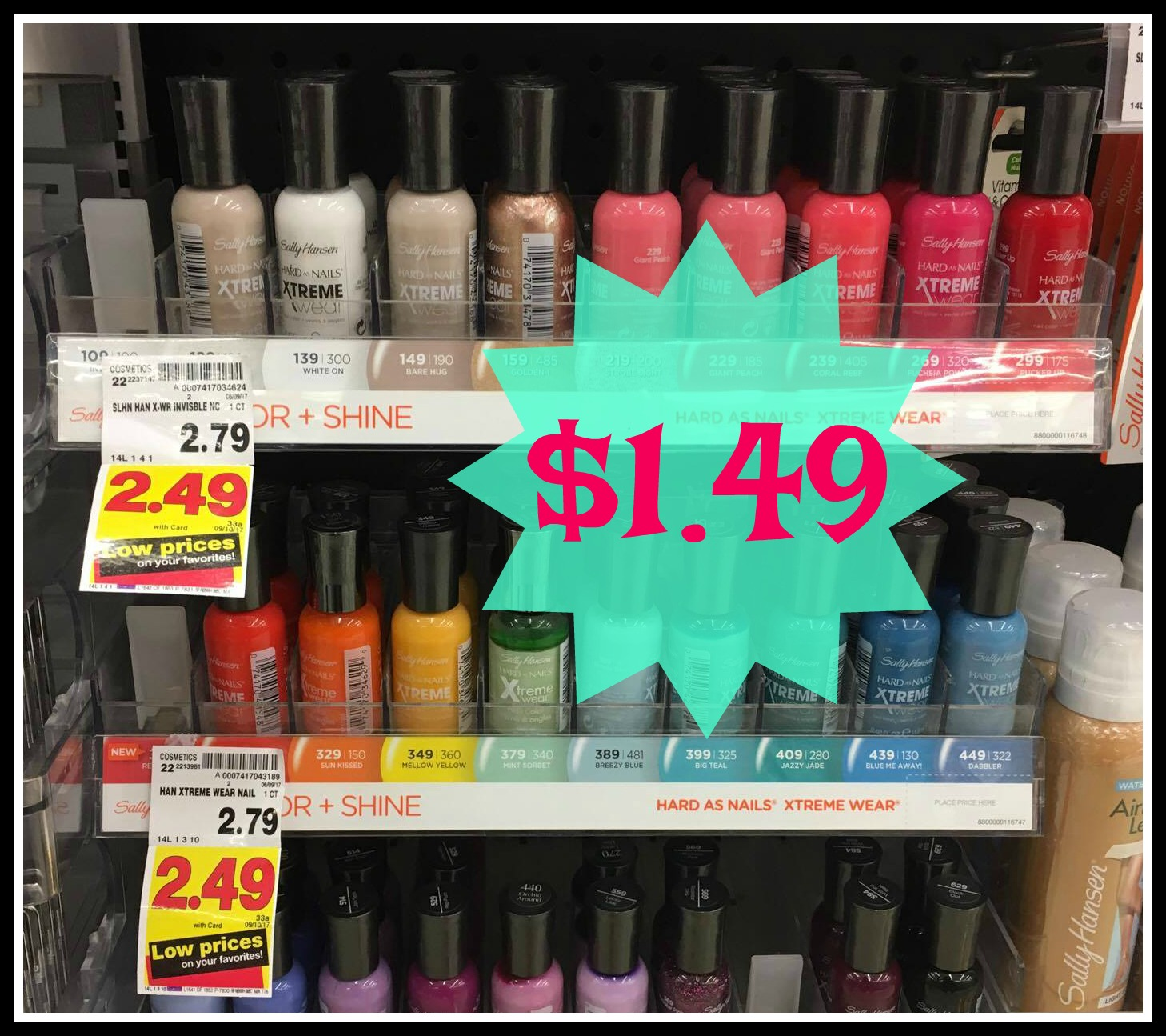 New Sally Hansen Nail Product Coupons Great Kroger Deals On Polish
