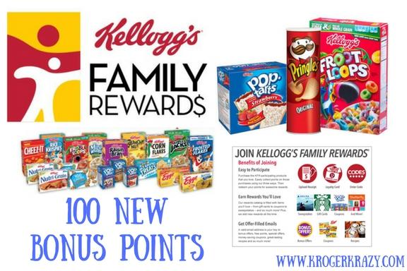 Kelloggs rewards codes