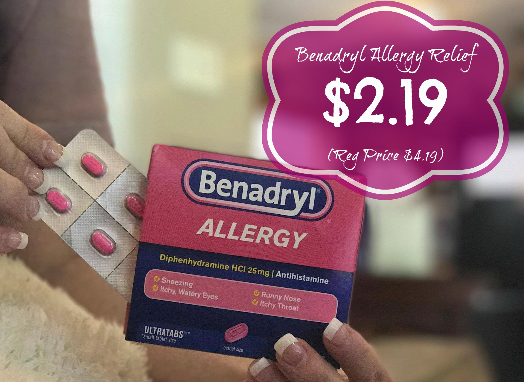 Benadryl Discount