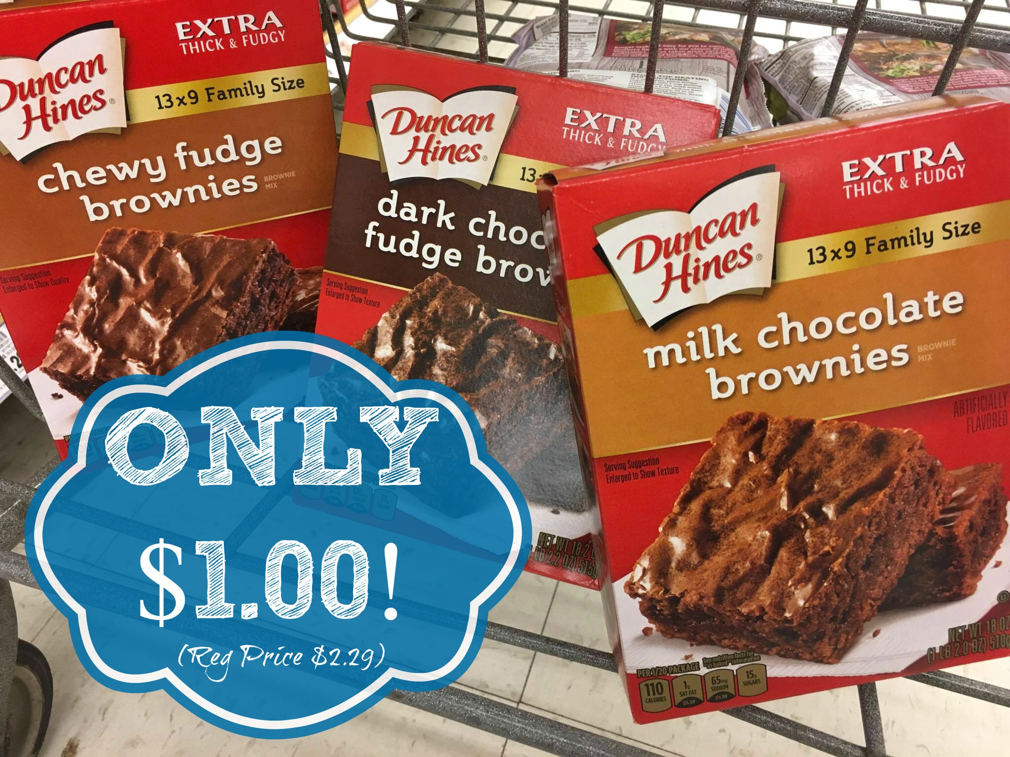 photograph about Duncan Hines Coupons Printable identify Consider Duncan Hines Brownie Incorporate For Merely $1.00 at Kroger!! (Reg