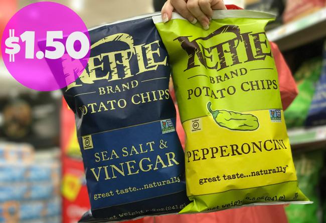 New Kettle Coupon Potato Chips For Only 1 50 At Kroger Kroger