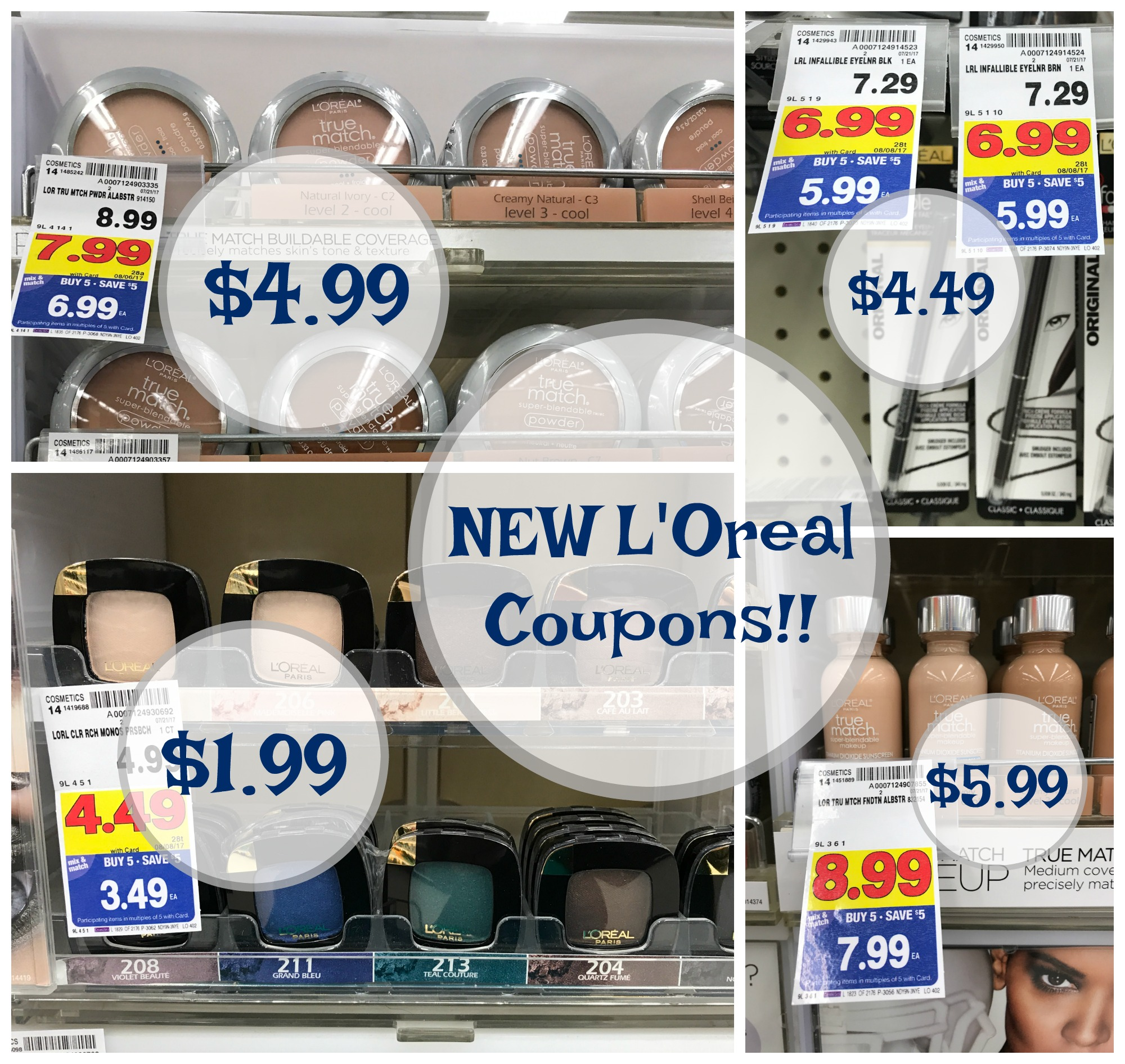 NEW L'Oreal Coupons = GREAT Cosmetics Deals at Kroger!! - Kroger Krazy