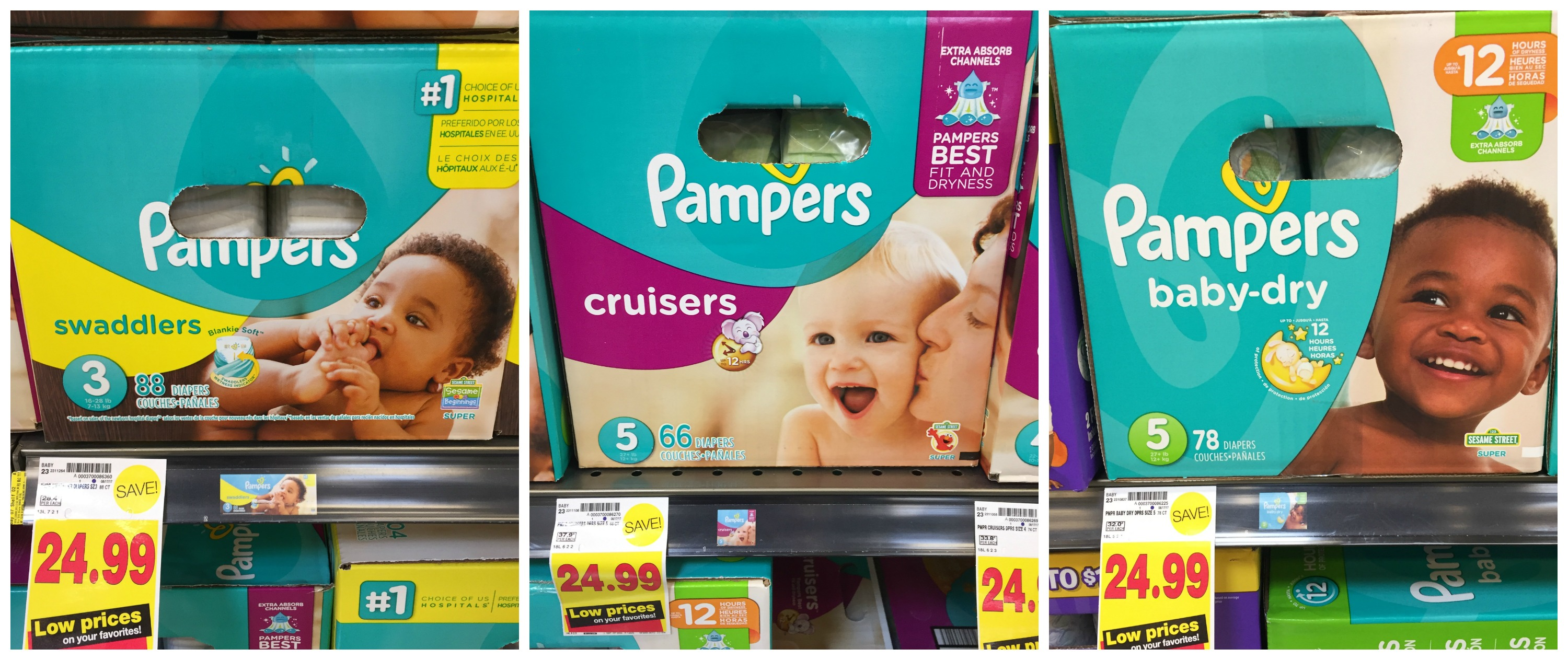 Digital coupons for pampers