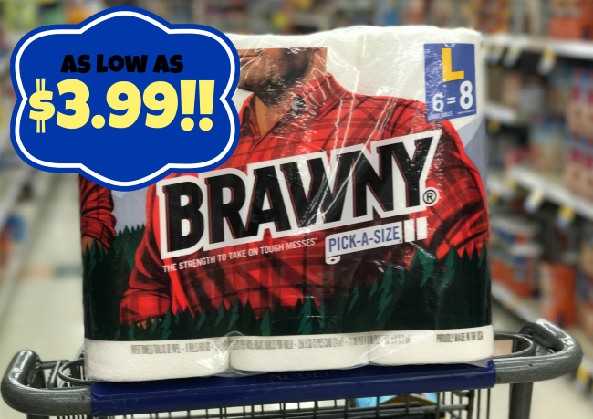 photo regarding Brawny Printable Coupons known as Brawny Paper Towels (6 superior rolls or 3 XXL rolls) as reduced as