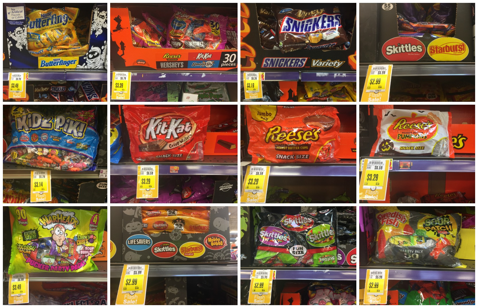 50% off halloween candy flash sale at kroger today (9/28) only