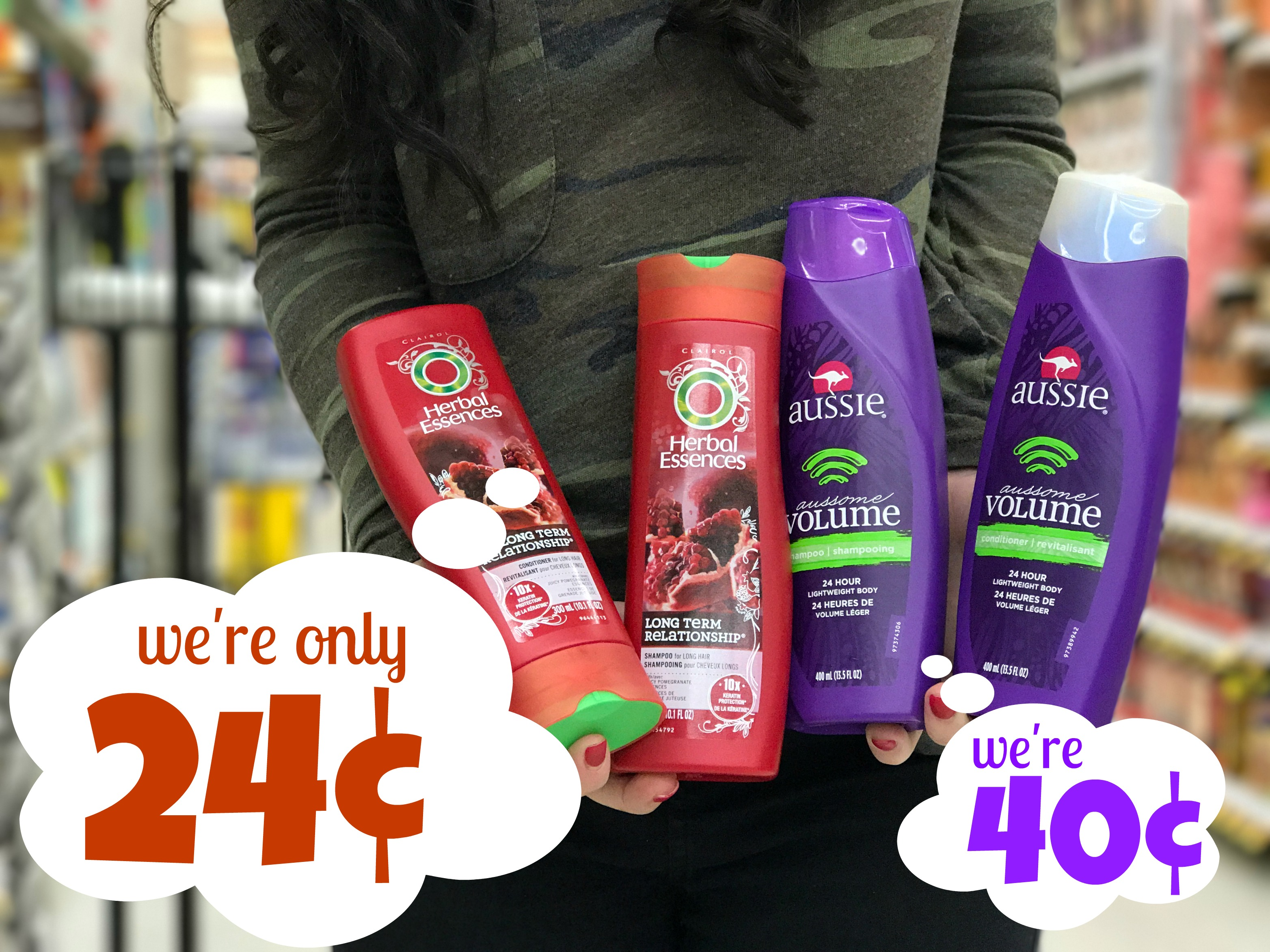 photograph relating to Herbal Essences Coupons Printable titled Organic Essences Hair Treatment Simply $0.24 at Kroger!! Aussie Merely