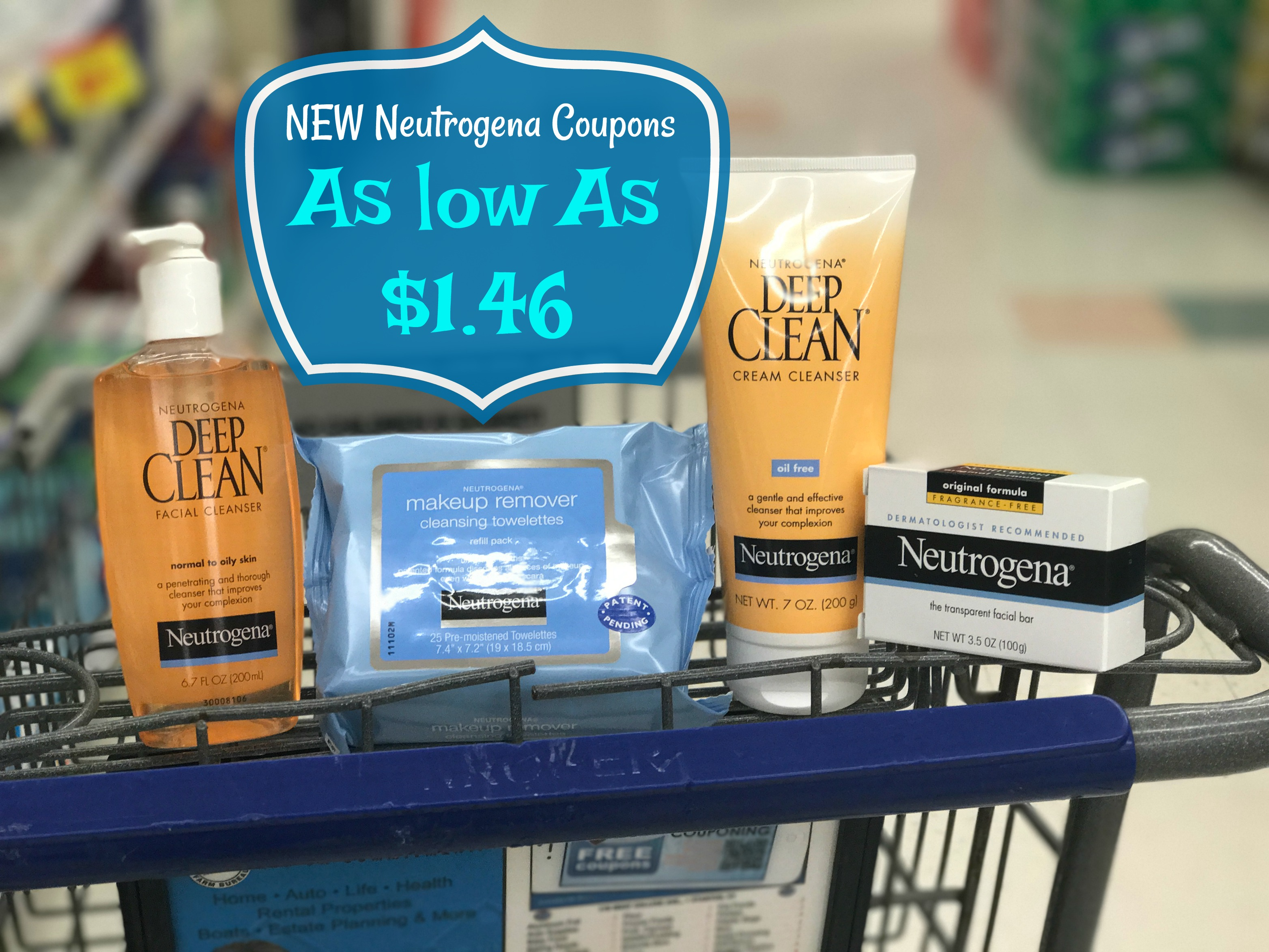 NEW Neutrogena Coupons = Facial items as low as $1.46 each at Kroger! - Kroger Krazy