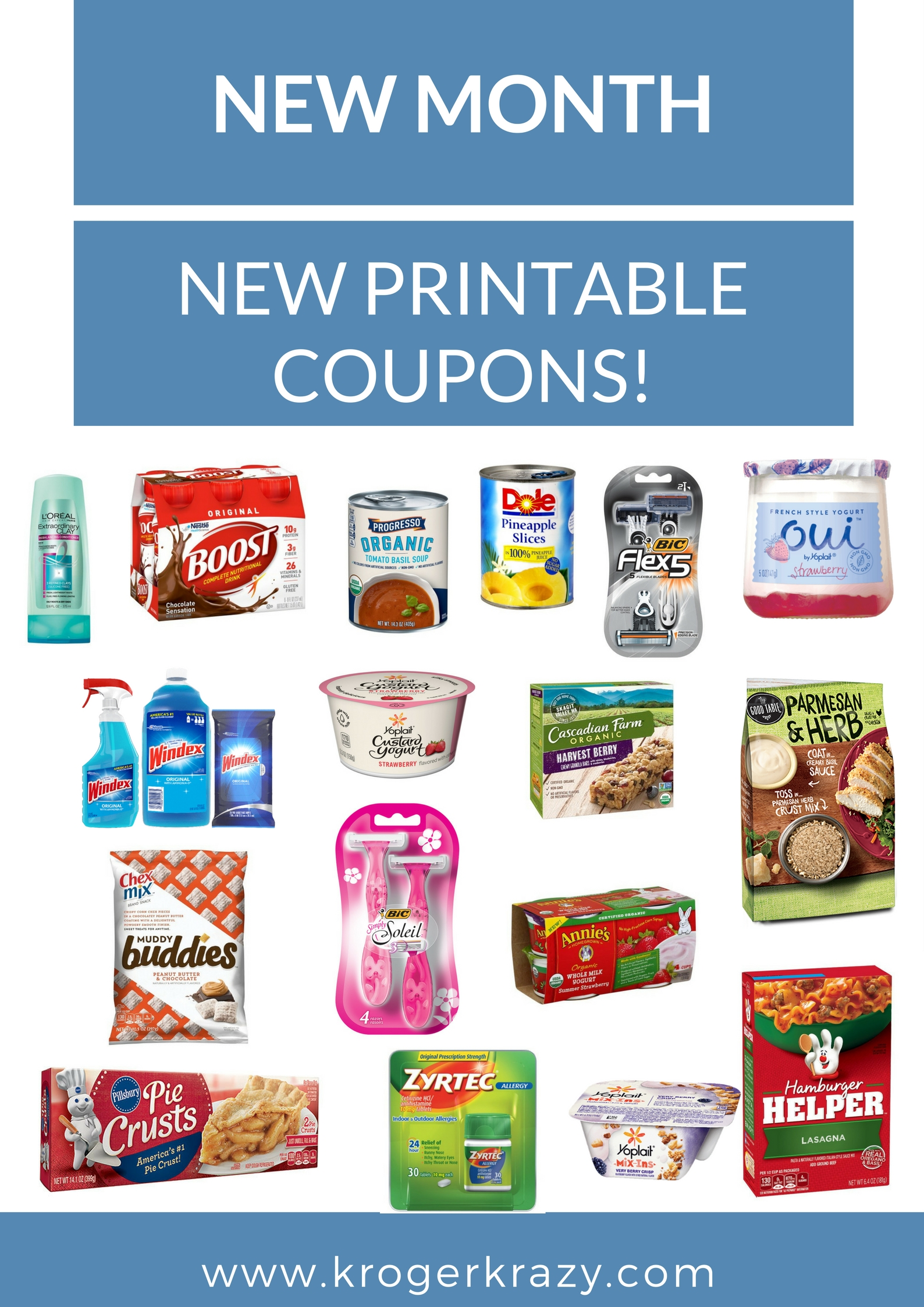 image about Yoplait Printable Coupons called Refreshing Thirty day period! Contemporary Printable Coupon codes!!! Windex, Yoplait