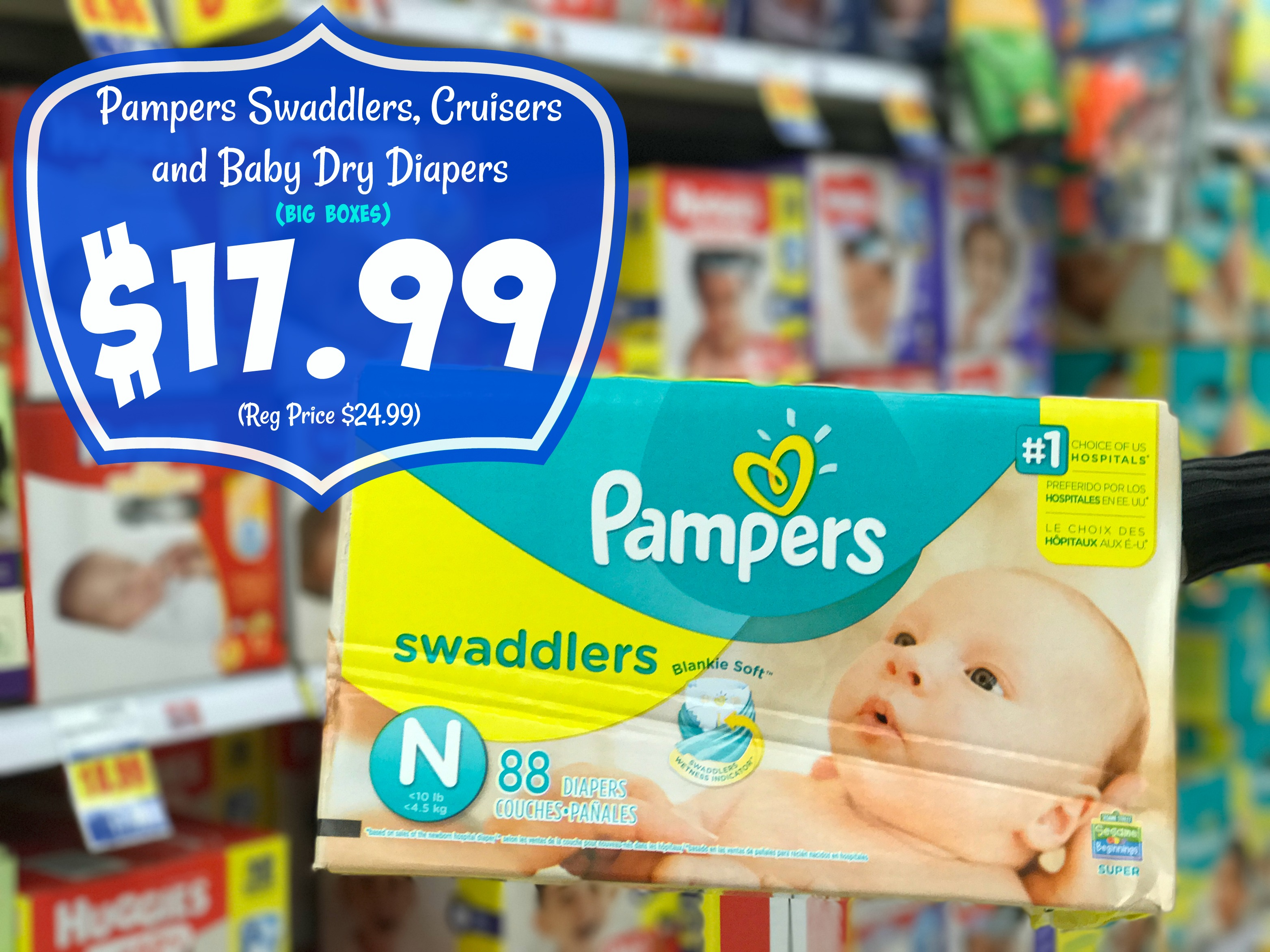 pampers swaddlers coupons - HD3128×2346
