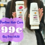 Pantene shampoo coupon deals