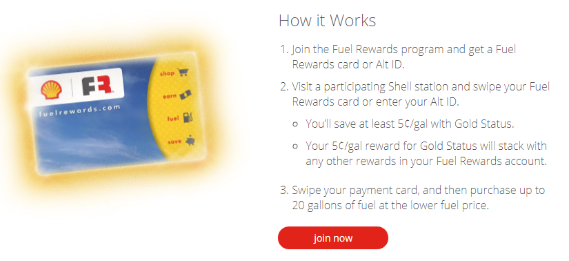 i want to introduce you to another way to save at shell gas stations join shell fuel rewards and get instant gold status and save 005 per gallon every - Shell Gas Rewards Card