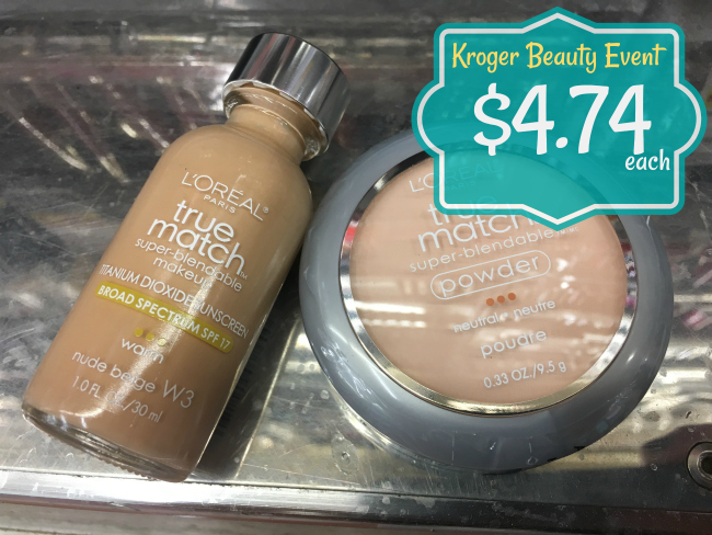 L\'Oreal True Match Foundation and Powder ONLY $4.74 at Kroger (Reg ...