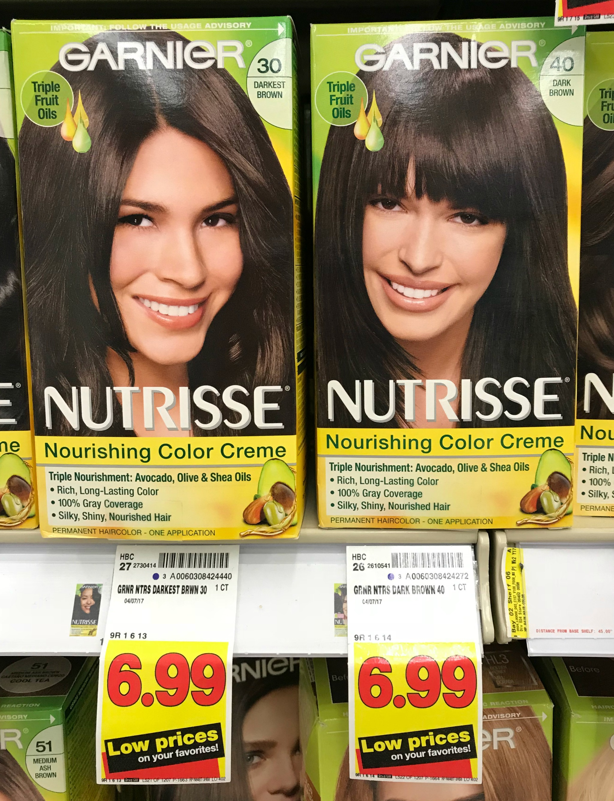 Garnier Nutrisse Hair Color Just 499 At Kroger Kroger Krazy
