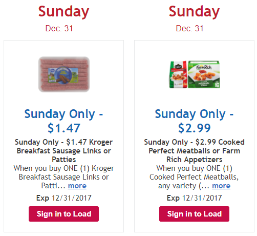 Kroger digital coupons and paper coupons