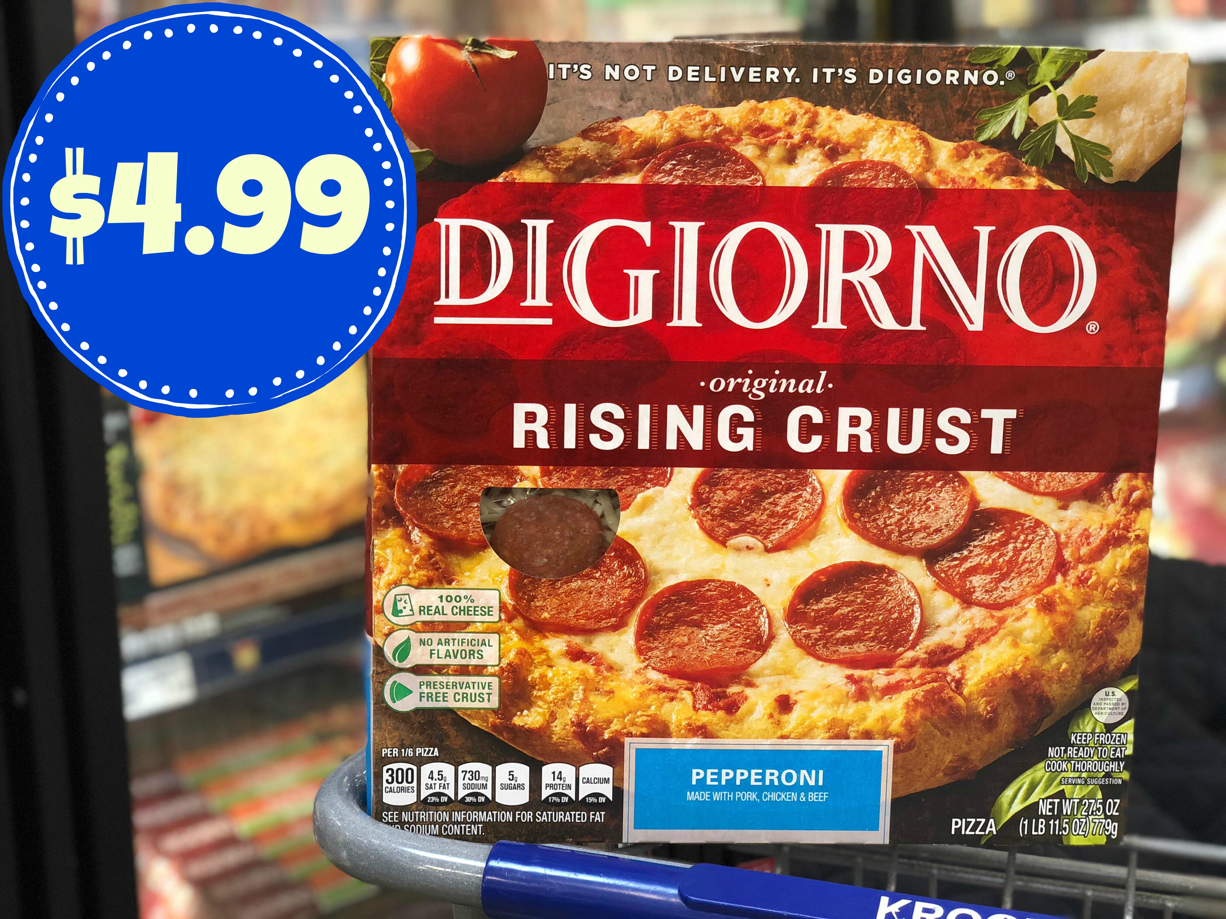 It is a photo of Clean Digiorno Pizza Coupon Printable