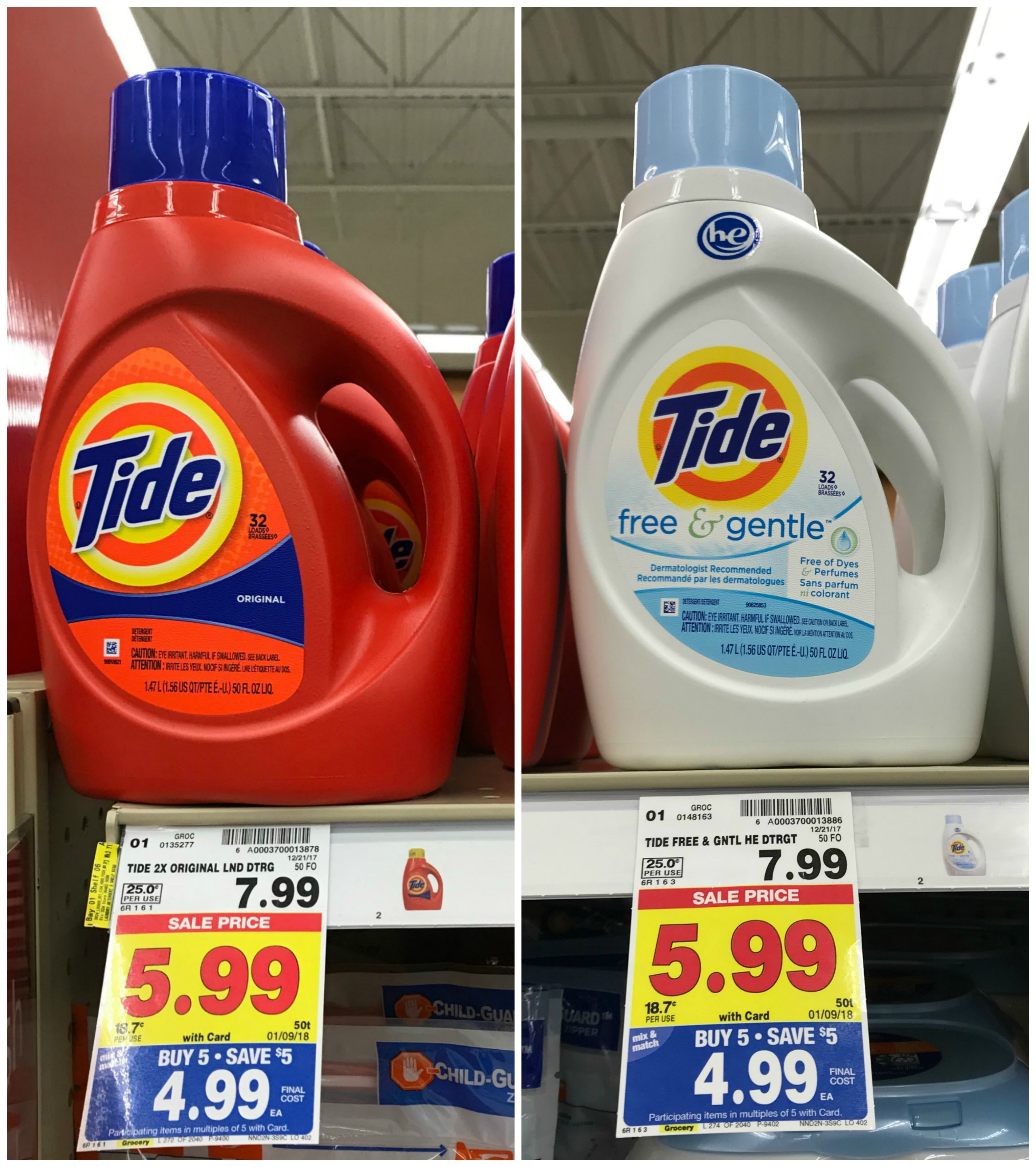 new tide liquid laundry coupons   only  2 99 at kroger