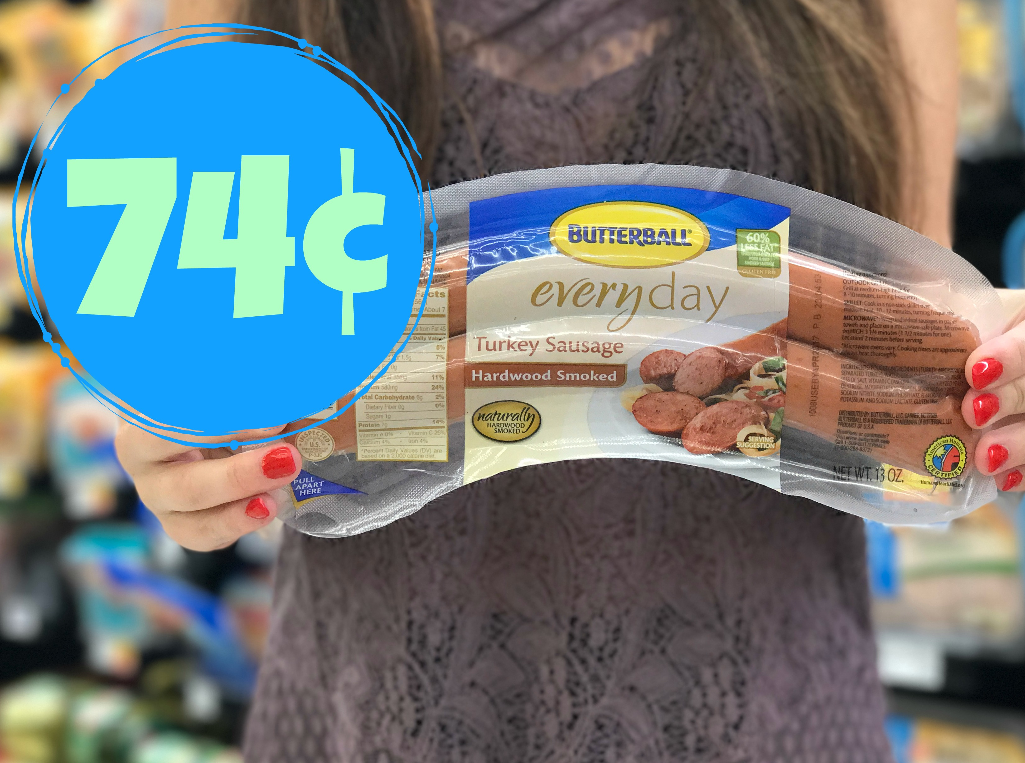 photograph relating to Butterball Coupons Turkey Printable identify Butterball Turkey Sausage as small as $0.74 at Kroger (Reg