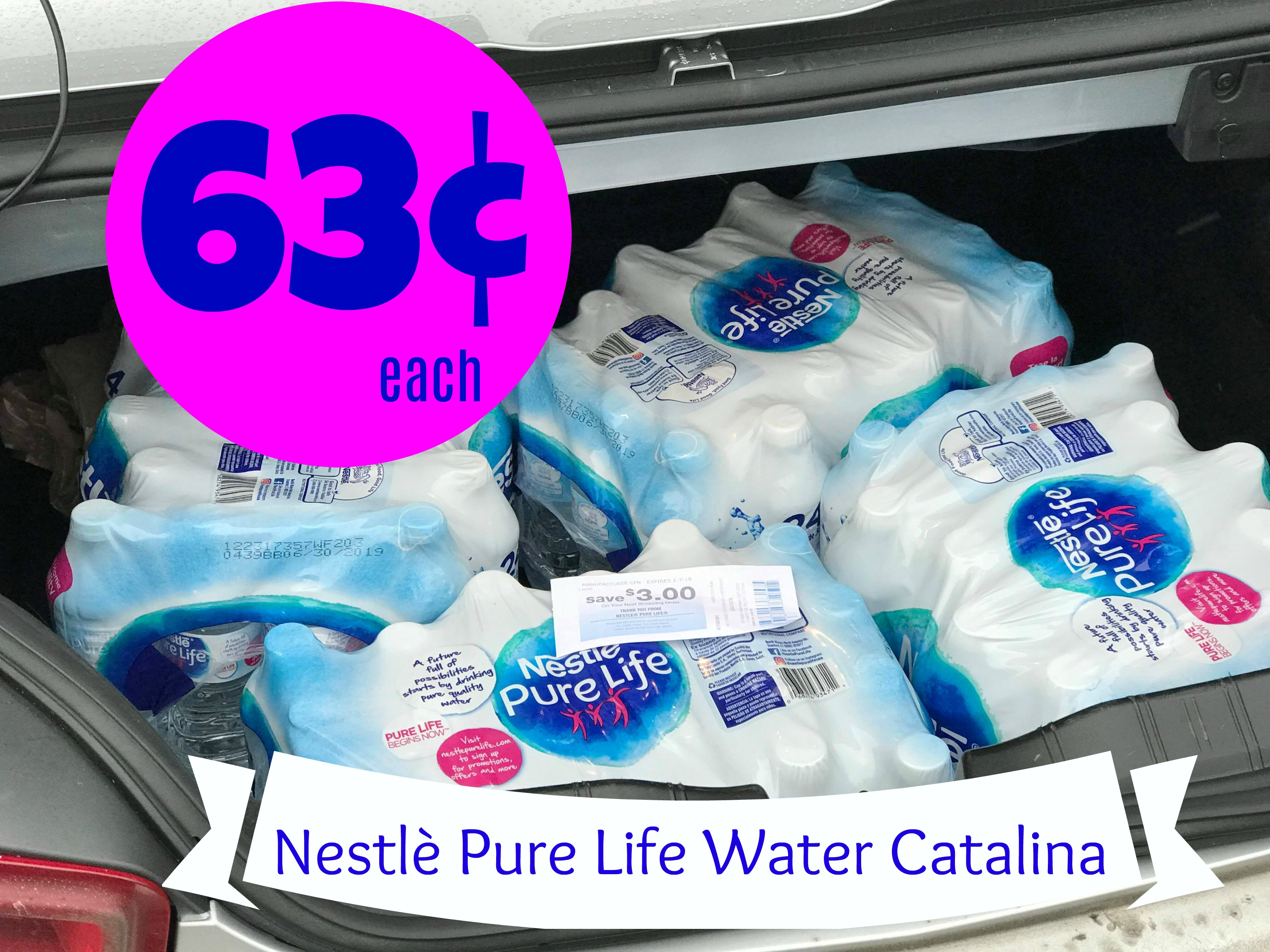930c01d73b Nestlè Pure Life Water Catalina | Score 24 Packs for ONLY $0.63 each at  Kroger!!