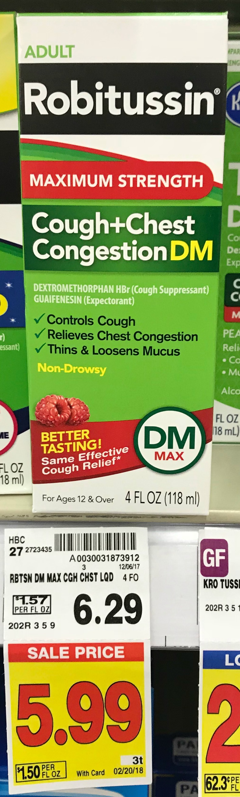 Robitussin coupons 2018