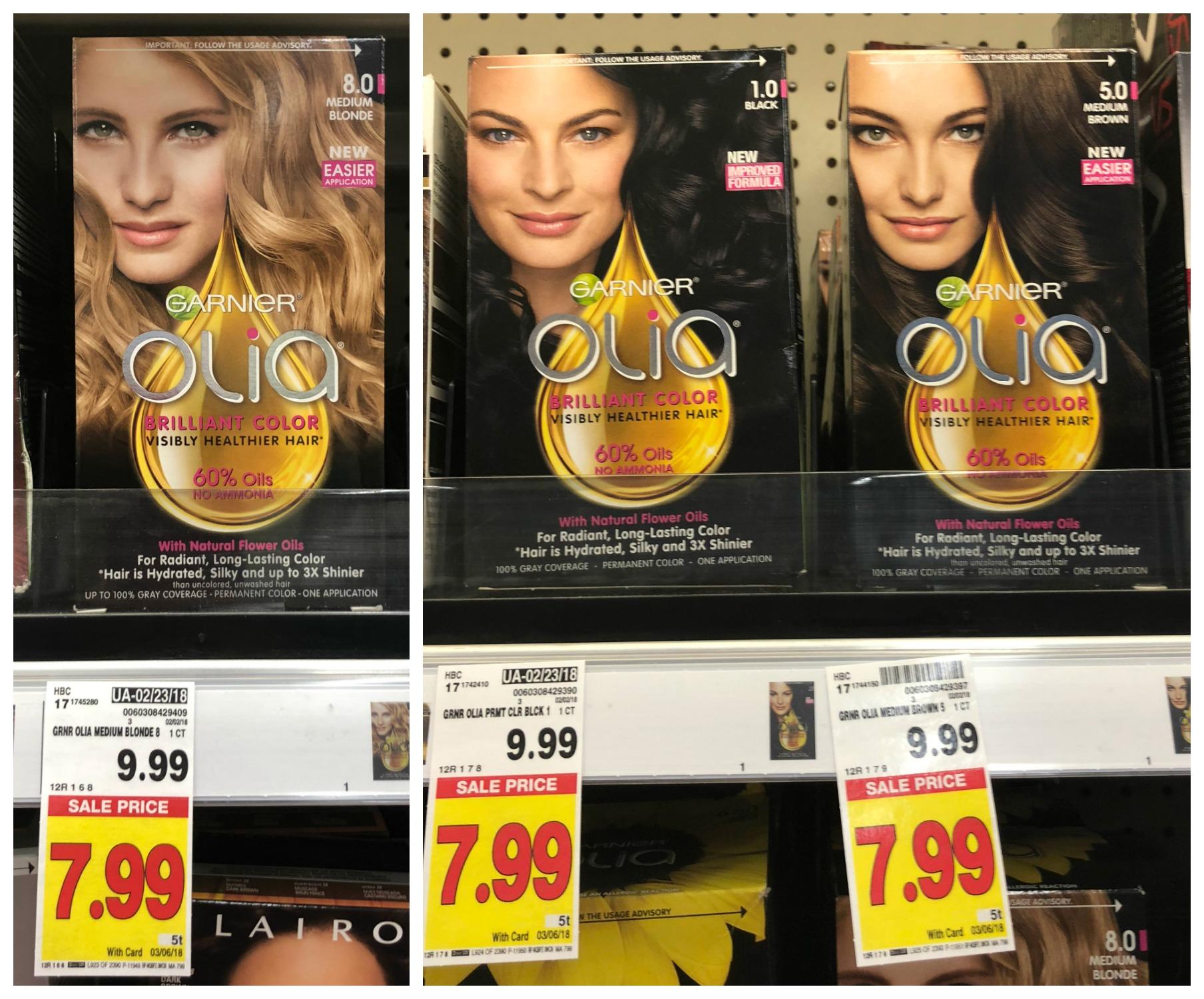 New 300 Garnier Coupon Olia Hair Color Only 499 Reg 999