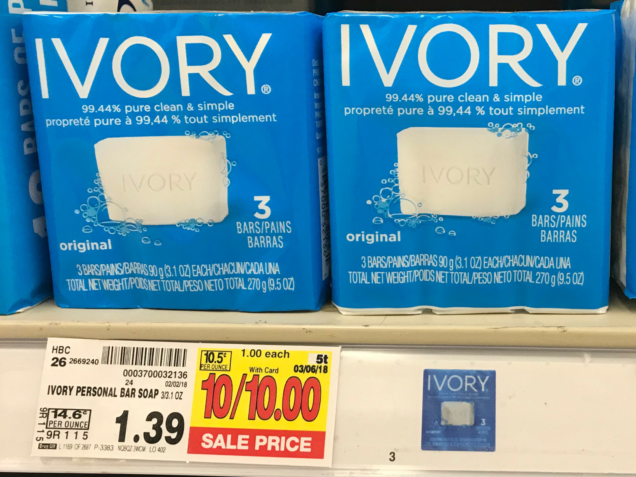 Ivory bar soap coupons