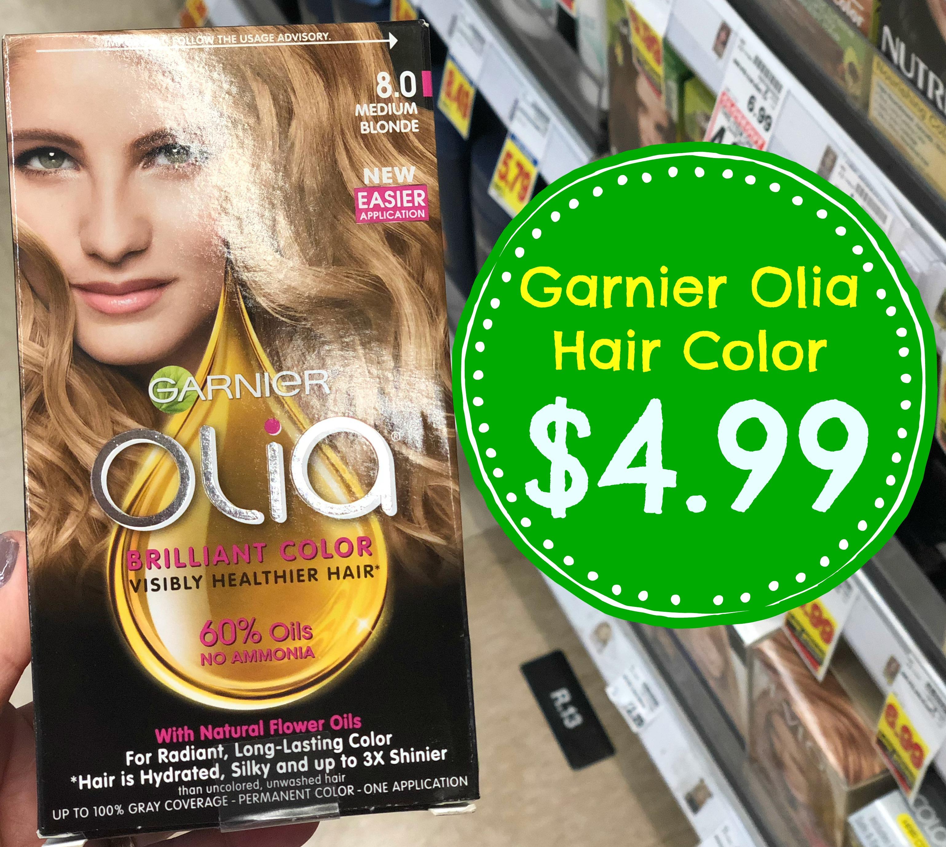 Garnier Olia Hair Color Only 499 At Kroger Reg 999 Kroger Krazy
