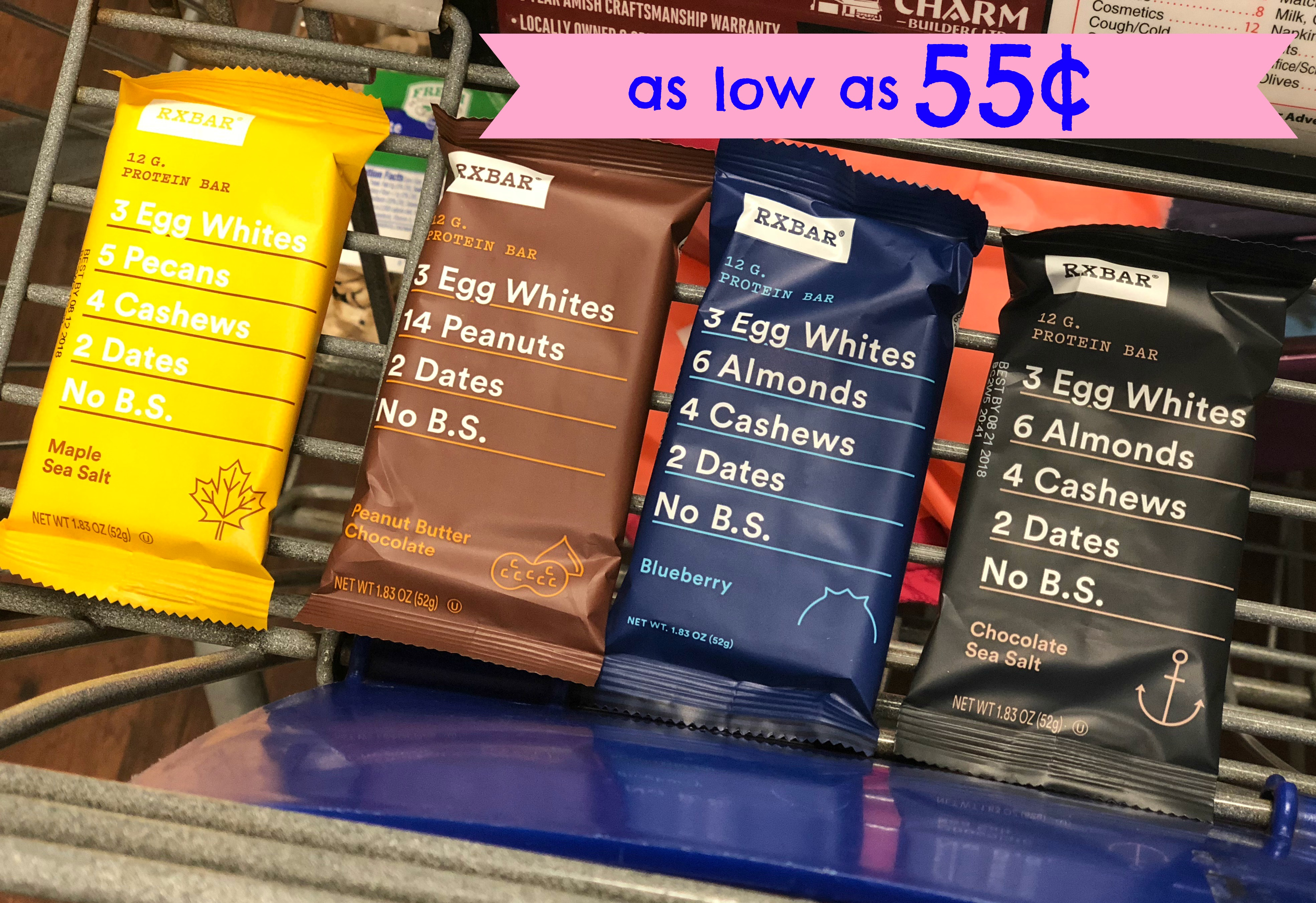 photograph regarding Kroger Printable Application referred to as RXBar Protein Bar as lower as $0.55 just about every at Kroger (Reg $2.49