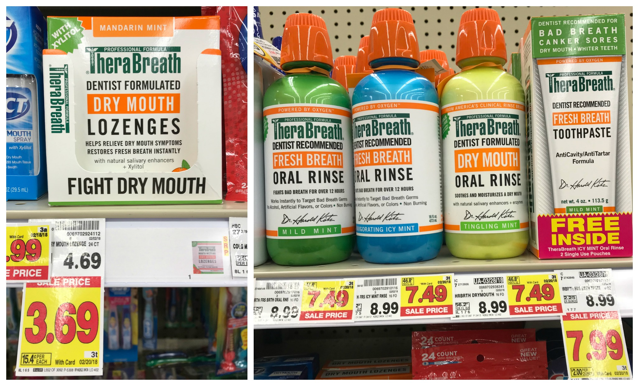 photograph about Therabreath Coupons Printable known as Clean TheraBreath Coupon \u003d Items as minimal as $2.49 at Kroger