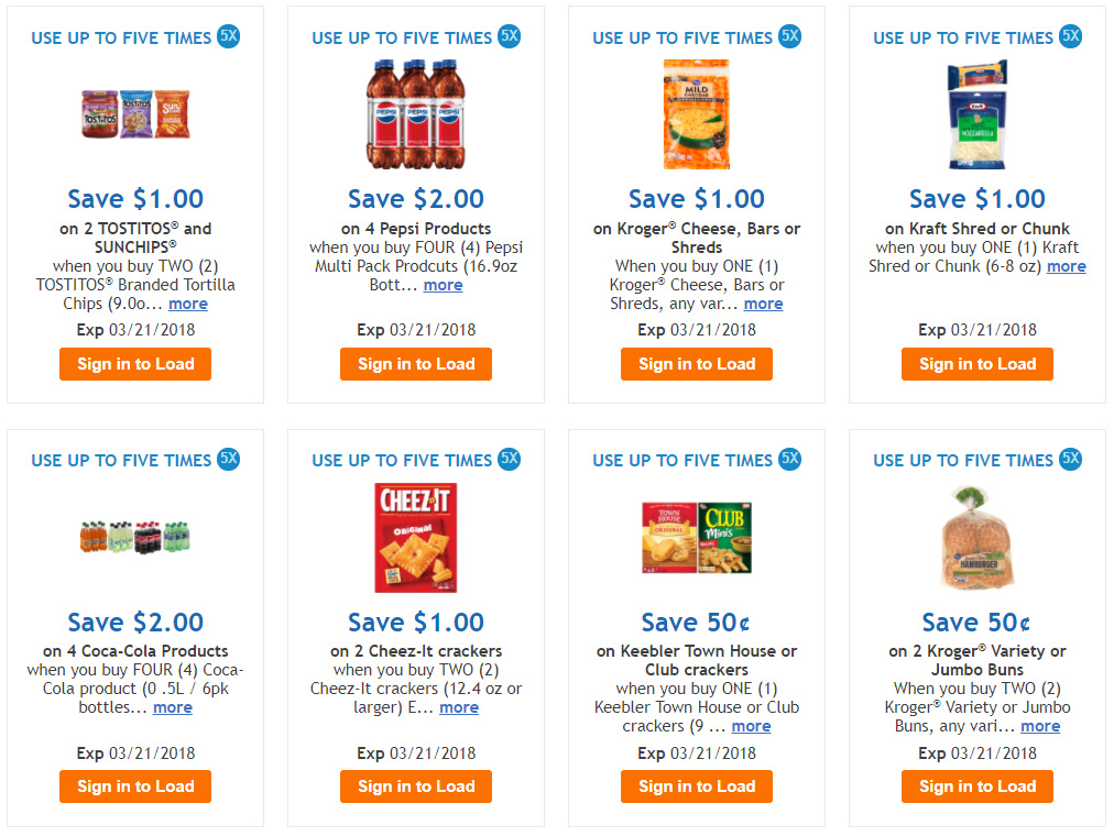 How to download coupons to your kroger card
