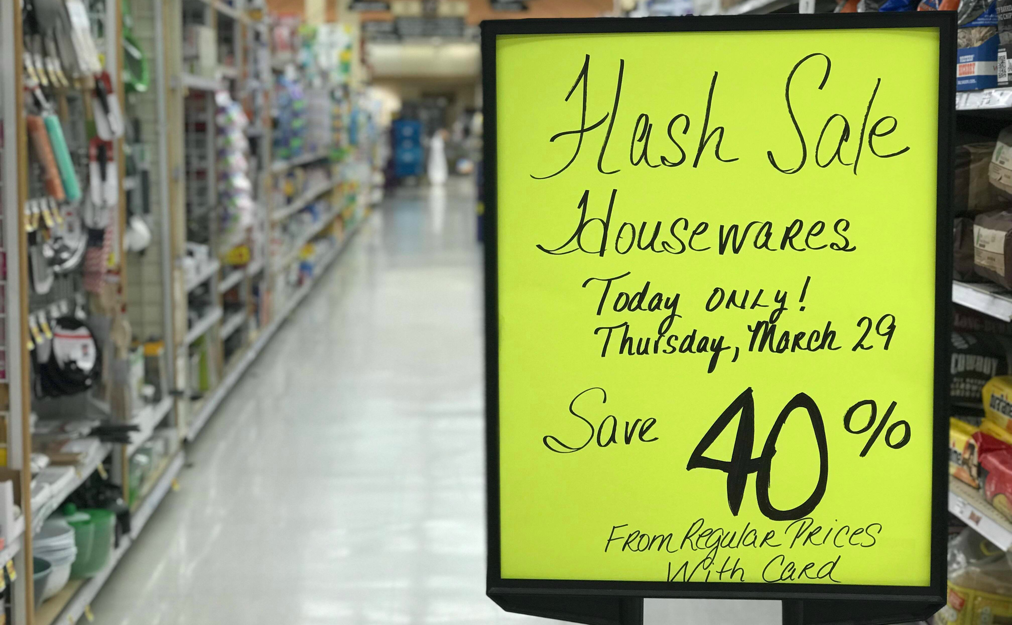 Just Head To Kroger, Scan The Housewares Aisles For The Yellow Flash Sale  Tags And Let Us Know What You Score!