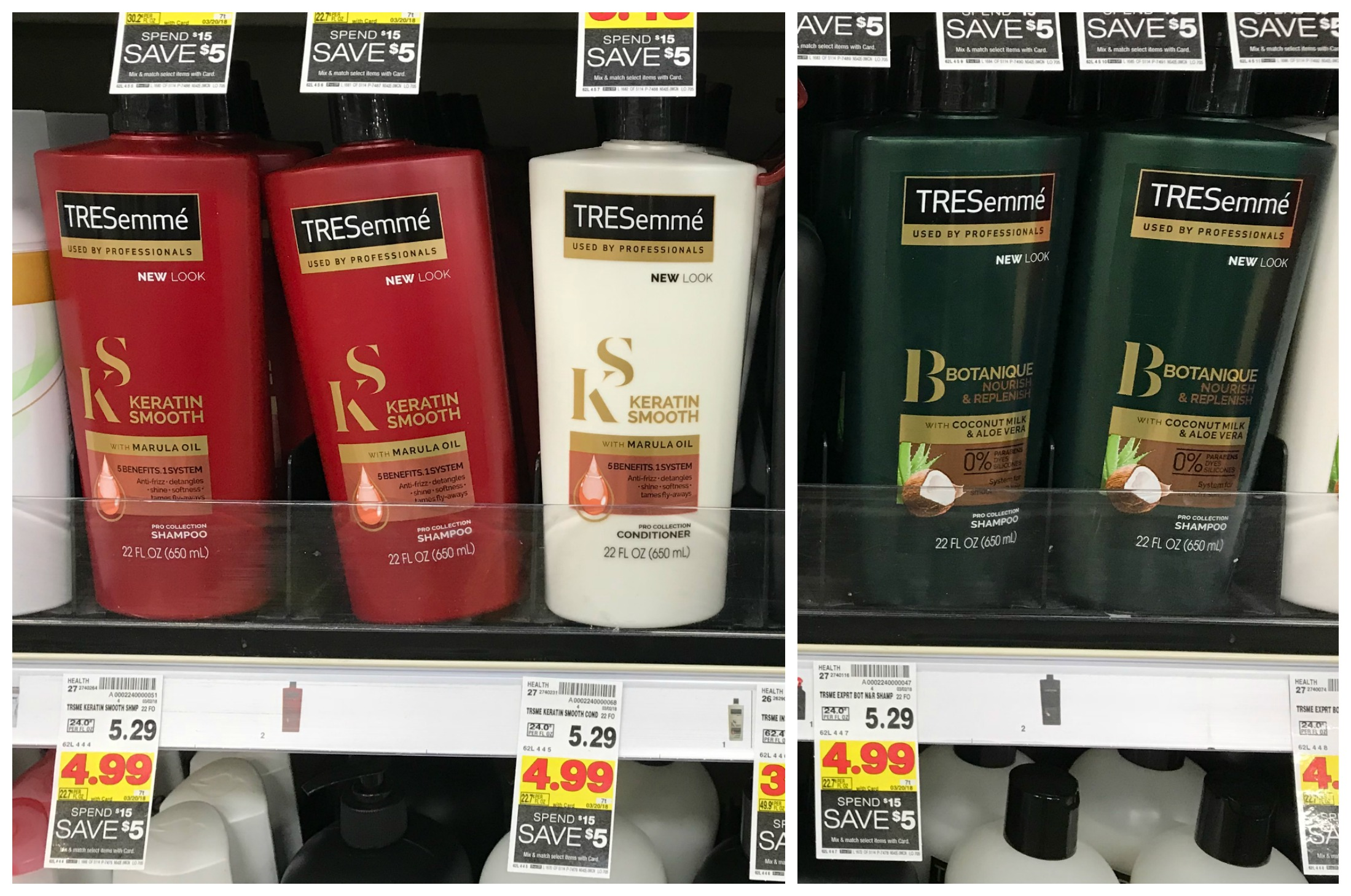 Tresemme Pro Collection Shampoo Amp Conditioner Only 1 25