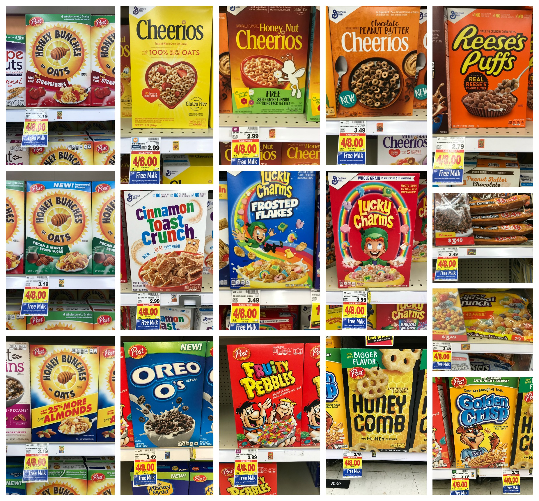 General Mills, Post And Malt-O-Meal