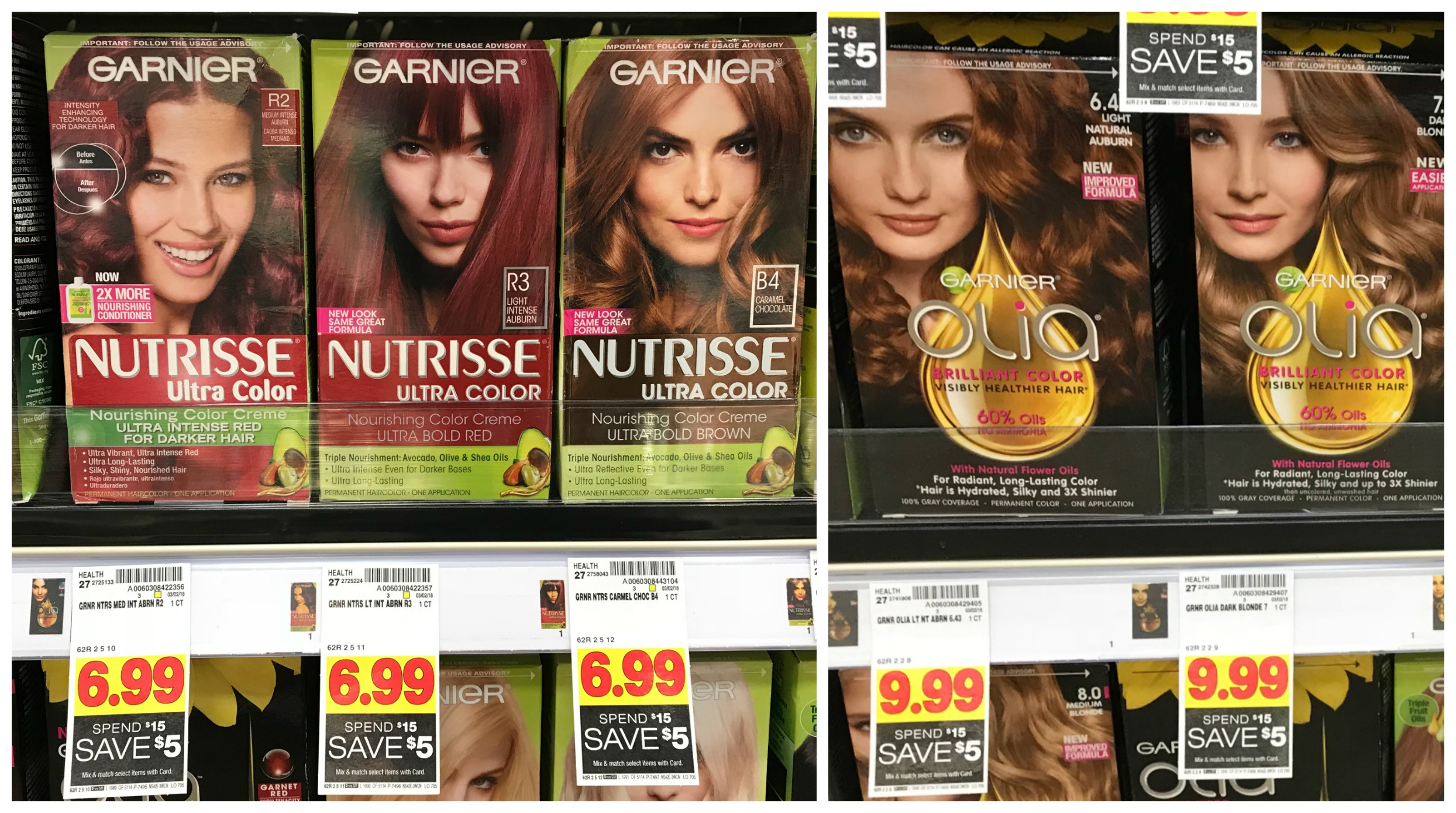 Garnier Olia And Nutrisse Hair Color Only 349 Each With Kroger