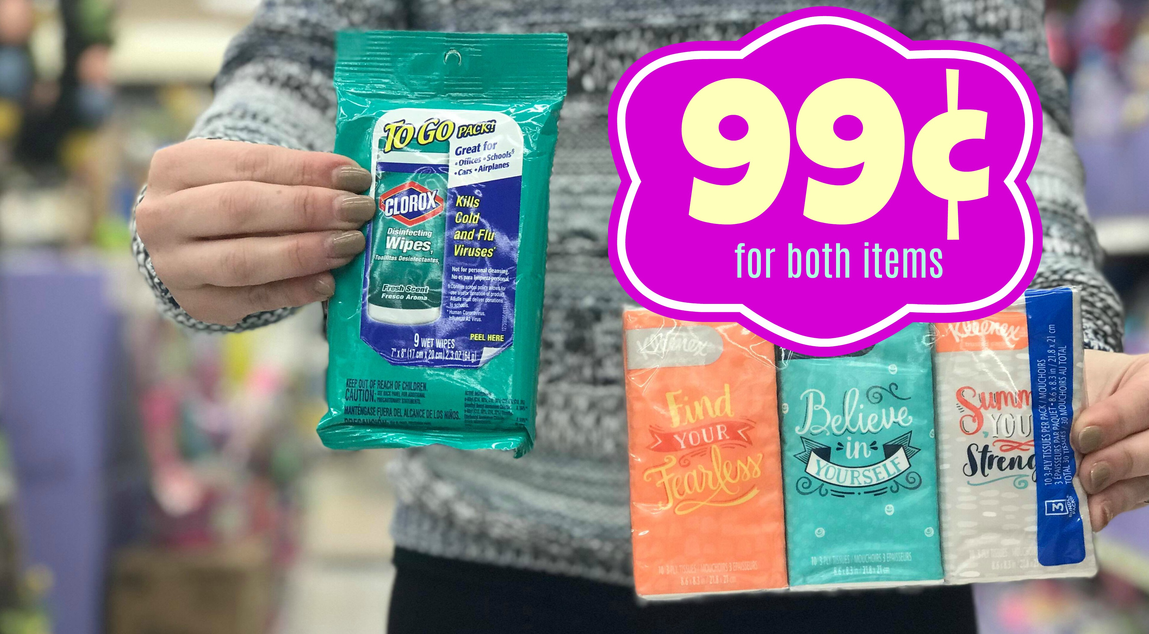 photograph relating to Kleenex Printable Coupon titled Fresh new Kleenex Clorox Coupon Fork out as small as $0.99 for