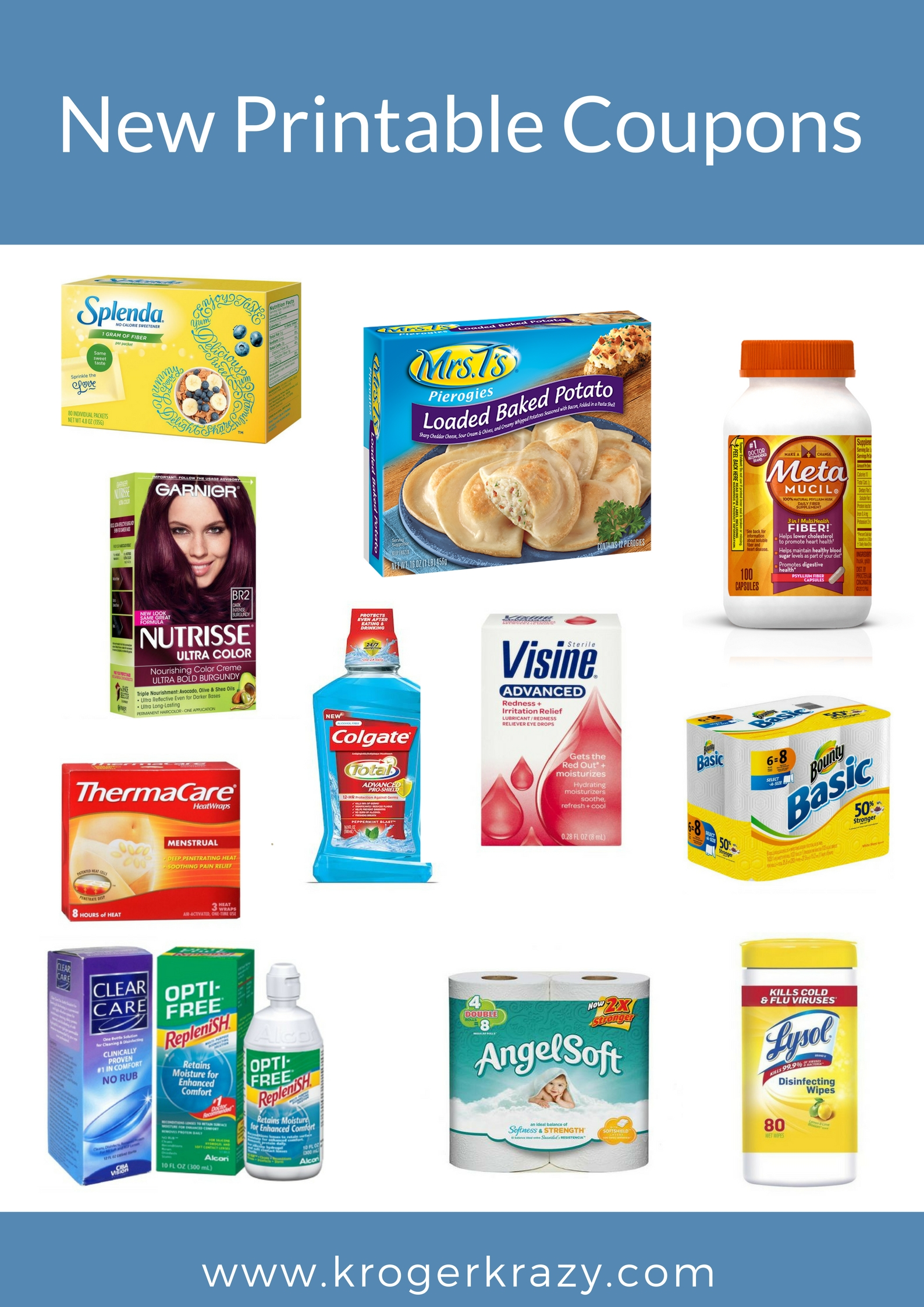 new printable coupons! l'oreal, angel soft, bounty, thermacare