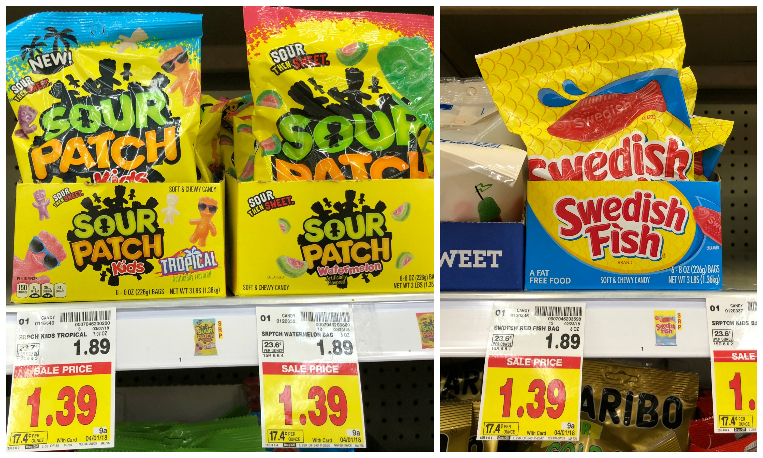 Get swedish fish and sour patch kids candy for just for Sour swedish fish