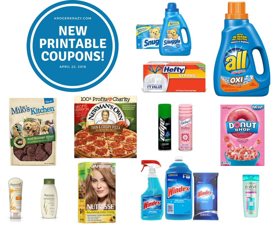 New Printable Coupons Snuggle Hefty L Oreal Windex Aveeno And