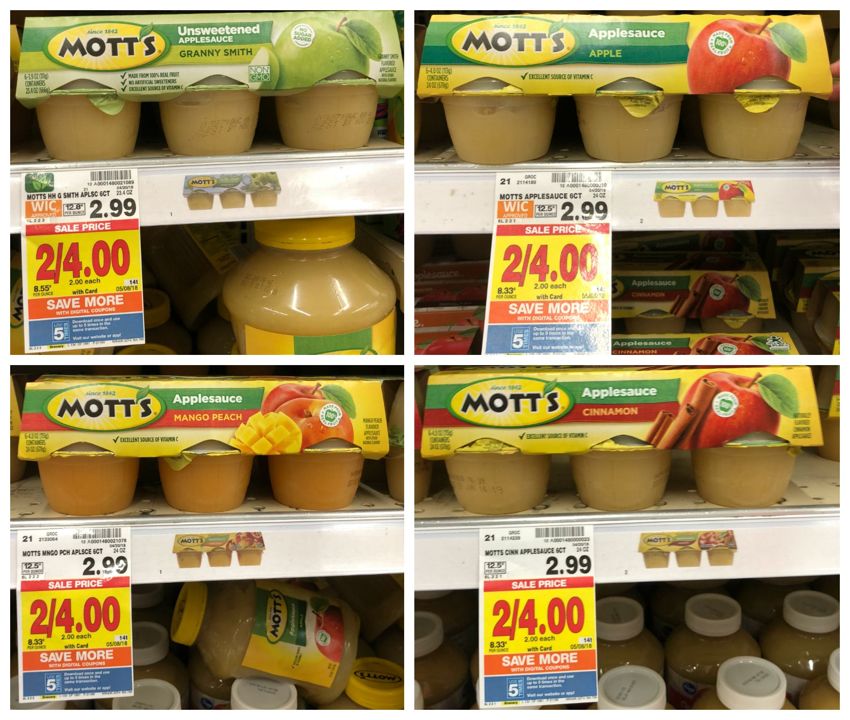 Motts applesauce coupons december 2018