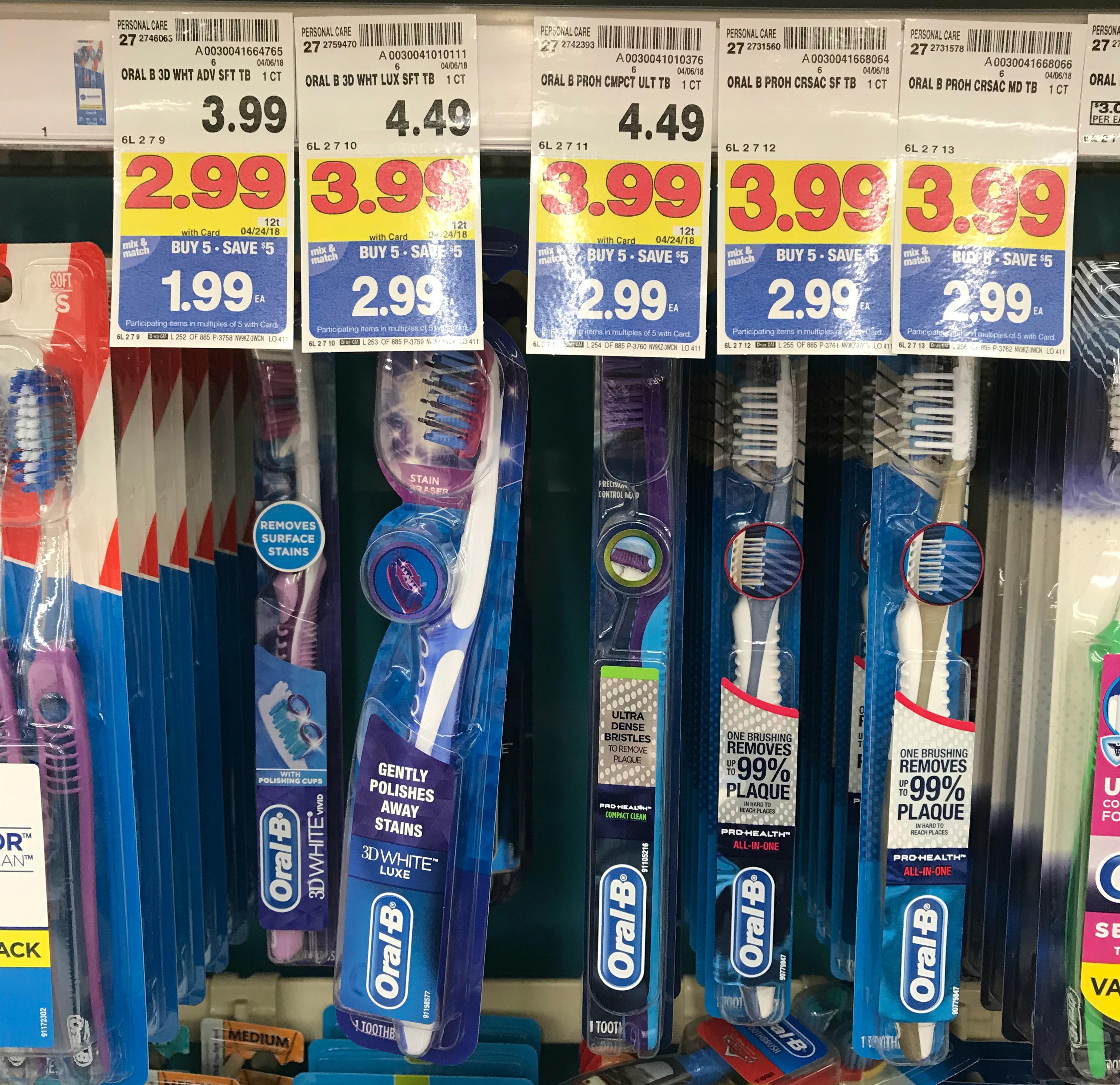 Oral b toothbrush coupons 2018